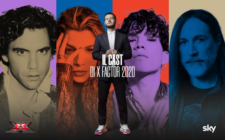 I Giudici di X Factor 2020